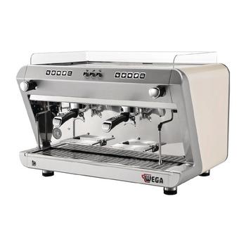 Wega IO Evd 2 Group Coffee Machine White EVD210