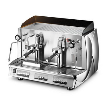 Wega Vela Vintage 2 Group Electronic Coffee Machine
