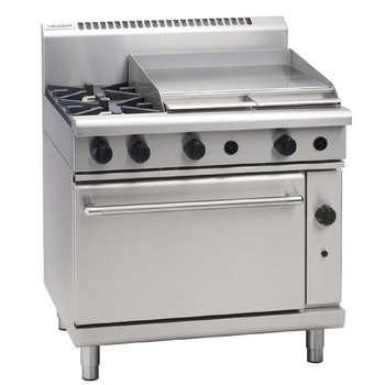 Waldorf by Moffat 2 Burner Natural Gas Oven Range with Griddle Plate RN8616G