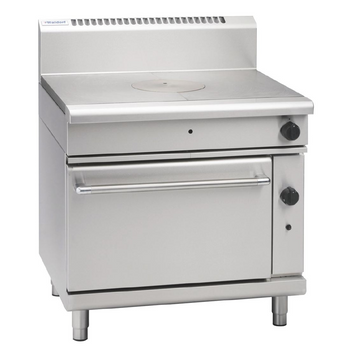 Waldorf Solid Top Gas Oven Range RN8110G