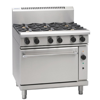 Waldorf Gas Convection Oven with Griddle RN8619GC