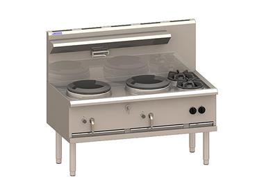 Luus 2 Hole Waterless Wok WX-2C2B