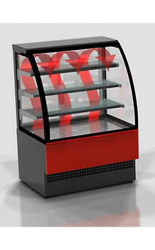 Eurochill Evo 60 Hot Curved Glass Display Case