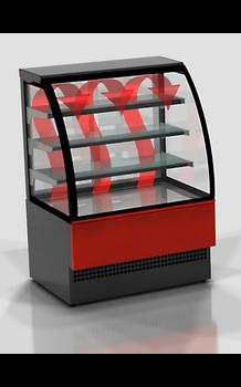 Eurochill Evo 90 Hot Curved Glass Display Case