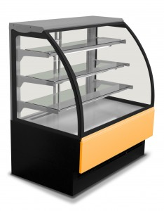 Eurochill EVO 150 Curved Display Fridge