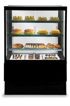 Eurochill EVOK 150 Patisserie Square Glass Display Case