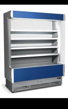 Eurochill Vulcano 60/100 Refrigerated Open Display Slim Case