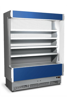 Eurochill Vulcano 80/125 Refrigerated Open Display Slim Case