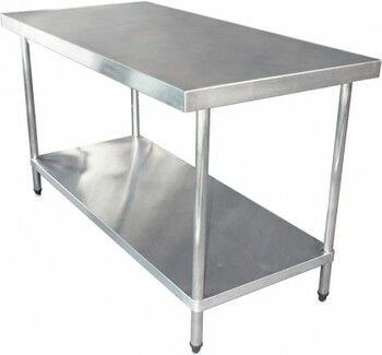 1200mm Bench with Shelf Underneath (02-1200L)