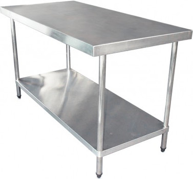 1200mm Bench with Shelf Underneath (02-1200L)