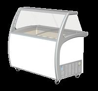 Exquisite SD575S2 Ice Cream Freezers with Glass Canopy