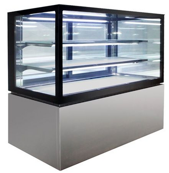 Anvil-Aire Square Glass Display 3 Tier 1200mm
