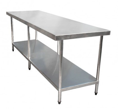 2400mm Bench with Shelf Underneath (02-2400L)