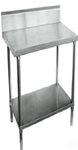 600mm Bench with Shelf Underneath and Splashback (03-600L)