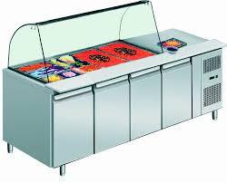 Four Door Deluxe Salad Bar (THP4100SALGC)