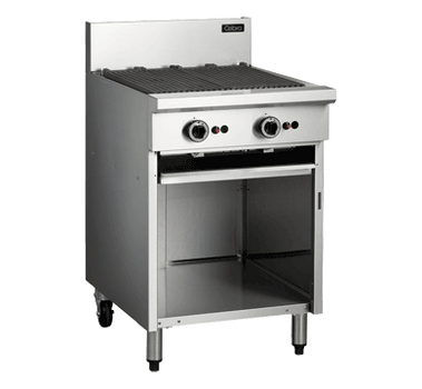 Cobra CB6 Gas Chargrill Barbecue On Open Cabinet Base