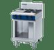 Blue Seal G514D-CB Gas Cooktop 4 Burner 600mm on Open Cabinet Base