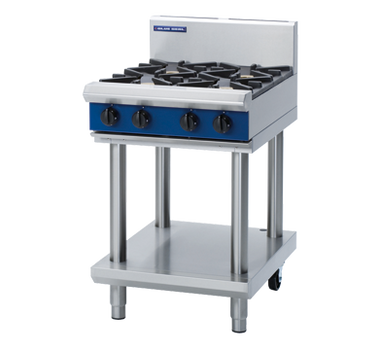 Blue Seal G514D-LS Gas Cooktop 4 Burner on Open Leg Stand Base