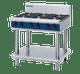 Blue Seal G516D-LS Gas Cooktop 6 Burner on Open Leg Stand Base