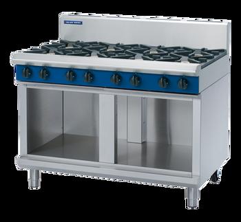 Blue Seal G518D-CB Gas Cooktop 8 Burner On Open Cabinet Base