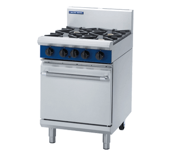 Blue Seal G504D/C/B Gas Cooktop 4 Burner with Static Oven Below