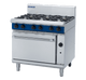 Blue Seal G506D Gas Cooktop 6 Burner with Static Oven Below