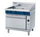 Blue Seal G506B Gas Cooktop 2 Burner with 600mm Griddle on Static Oven Below