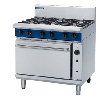 Blue Seal G56D Gas Cooktop 6 Burner with Convection Oven Below