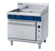 Blue Seal G56B Gas Cooktop 2 Burner with 600mm Griddle on Convection Oven Below