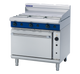 Blue Seal G56A Gas Full Griddle on Convection Oven Below