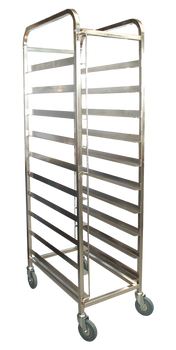 10 Tray Mobile Bakery Rack Trolley (1629-BAK-10)