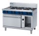 Blue Seal G508D Gas Cooktop 8 Burner with Static Gas Oven Below