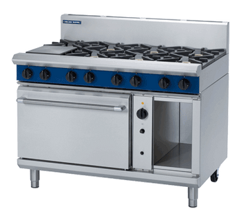 Blue Seal G58D Gas Cooktop 8 Burner with Convection Oven Below