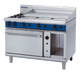 Blue Seal G58C Gas Cooktop 2 Burner with 900mm Griddle on Convection Oven Below