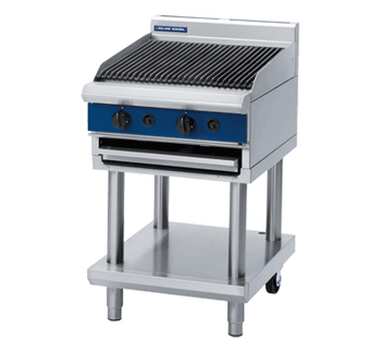 Blue Seal G594-LS 600mm Gas Chargrill on Open Leg Stand Base