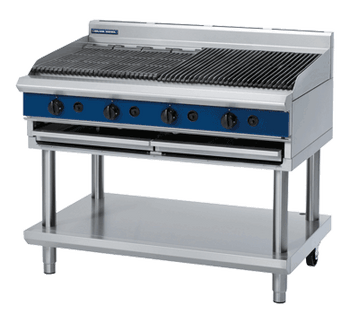 Blue Seal G598-LS 1200mm Gas Chargrill on Open Leg Stand Model