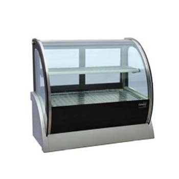 Cold Curved Countertop Showcase 900mm (115lt)