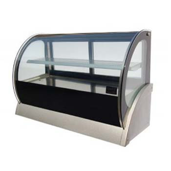 Cold Curved Countertop Showcase 1200mm (155lt)