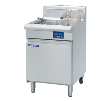 Blue Seal GT60E Vee Ray Twin Pan Gas Electric Fryer 600mm