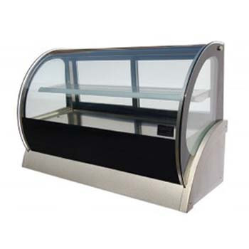Cold Curved Countertop Showcase 1500mm (200Lt)