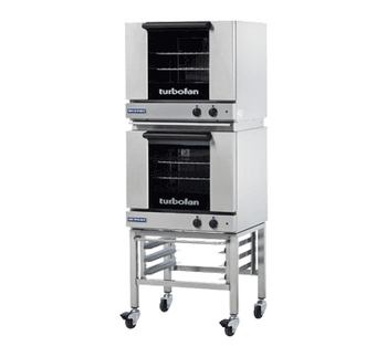 Turbofan E23M3/2 Half Size Tray Manual Electric Convection Ovens Double Stacked