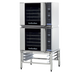 Turbofan E31D4/2 Half Size Tray Digital Electric Convection Ovens Double Stacked