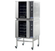 Turbofan G32D4/2 Full Size Tray Digital Gas Convection Ovens Double Stacked