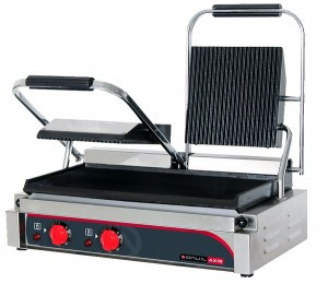 Panini Press – Double (ribbed top / flat bottom)) | TSS3000 | Anvil Axis | ACES