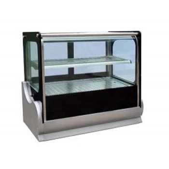 Cold Square Countertop Showcase 900mm