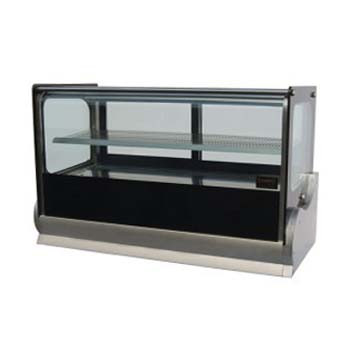 Cold Square Countertop Showcase 1200mm (190lt)