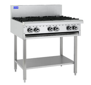 Luus 6 Burner Cooktop