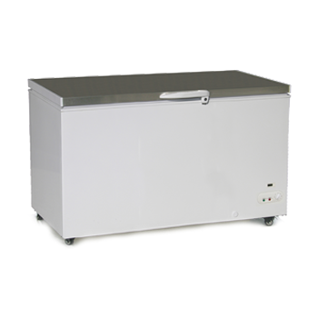 Exquisite Stainless Steel Top Check Freezer