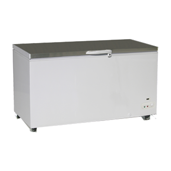 Exquisite Stainless Steel Top Chest Freezer