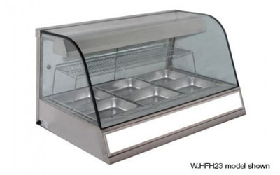 Woodson 4 bay Heated Chicken Display (Wh.HFH23 model shown)